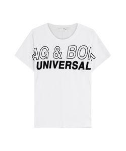 Rag & Bone | Printed Cotton T-Shirt Gr. L
