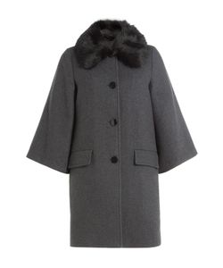 Steffen Schraut | Coat With Fur Collar Gr. De 44