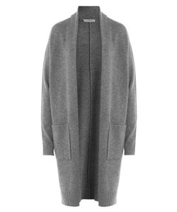 Vince | Wool Cardigan With Cashmere Gr. L