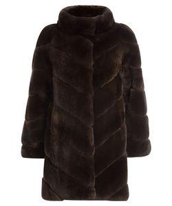 Yves Salomon   Rabbit Fur Coat Gr. Fr 36