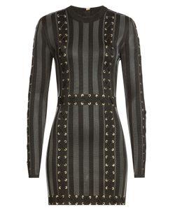 Balmain | Mini Dress With Lace-Up Detail Gr. Fr 36