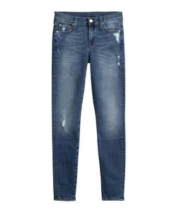 Seven for all Mankind | Skinny Jeans With Distressed Detail Gr. 26