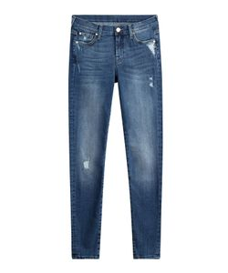 Seven for all Mankind   Distressed Skinny Jeans Gr. 24