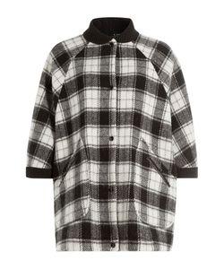 M Missoni | Wool Plaid Short Sleeve Cape Gr. It 42