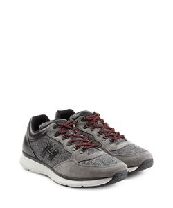 Hogan | Sneakers With Suede And Felt Gr. Uk 9