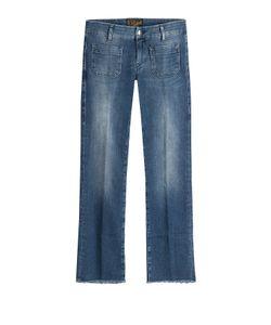 Seafarer | Cropped And Flared Jeans Gr. 30