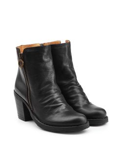 Fiorentini & Baker | Leather Ankle Boots With Zip Gr. It 38
