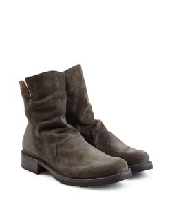 Fiorentini & Baker | Distressed Sueded Ankle Boots Gr. It 40