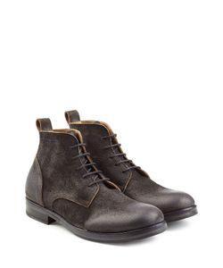Fiorentini & Baker | Distressed Suede Lace-Up Boots Gr. Eu 45