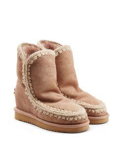 Mou | Eskimo Wedge Short Sheepskin Boots Gr. It 37
