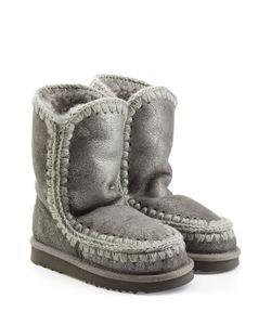 Mou | Metallic Eskimo Sheepskin Boots Gr. Eu 36