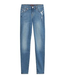 Seven for all Mankind | Distressed Skinny Jeans Gr. 24