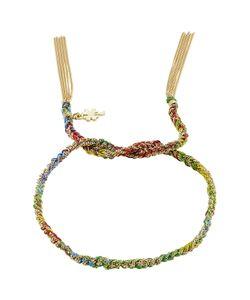 Carolina Bucci   Woven Tassel 18kt Bracelet Gr. One Size