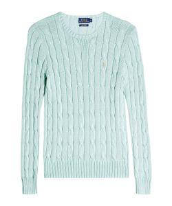 Polo Ralph Lauren   Cotton Cable Knit Pullover Gr. L