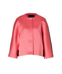 Jonathan Saunders | Satin/Wool Felt Jacket In Pink/Black Gr. M