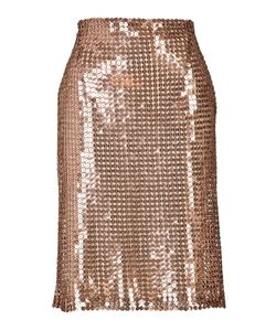 Marios Schwab | Sequined Pencil Skirt Gr. Uk 8