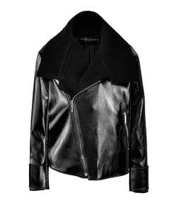 Anthony Vaccarello | Wool-Cotton Biker Jacket Gr. Fr 38