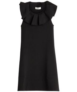 Issa | Jemmima Dress With Ruffled Front Gr. Xs