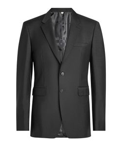 Burberry London | Wool Blazer With Mohair Gr. Eu 50