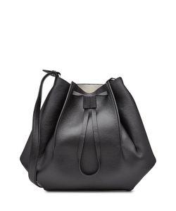 Maison Margiela | Leather Shoulder Bag With Drawstring Gr. One Size