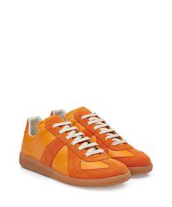 Maison Margiela | Leather And Suede Sneakers Gr. Eu 43
