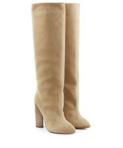 Yeezy | Suede Knee Boots Gr. Eu 37