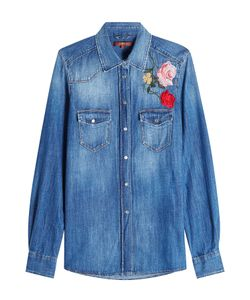 Seven for all Mankind | Denim Shirt With Embroidery Gr. L