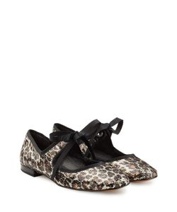 Marc Jacobs | Sequin Ballerinas With Ribbon Ties Gr. It 38