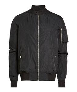 Rick Owens   Zipped Fabric Jacket Gr. Eu 52