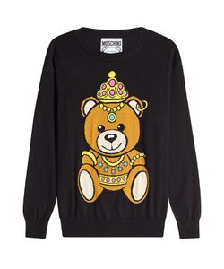Moschino | Printed Cotton Pullover Gr. S