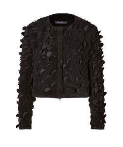 Marios Schwab | Suede Jacket With Cutout Detailing Gr. 8