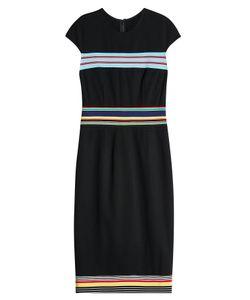 Diane von Furstenberg | Striped Detail Dress Gr. Us 6