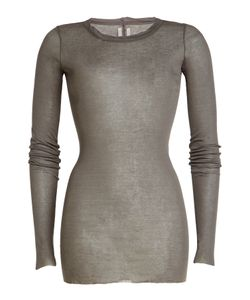 Rick Owens   Long Sleeved Cotton Top Gr. It 44