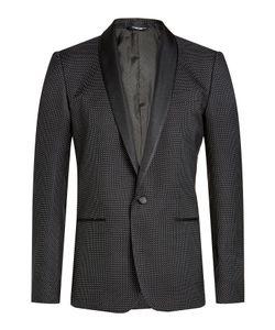 Dolce & Gabbana | Printed Blazer With Cotton And Silk Gr. Eu 50