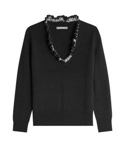 Alexander McQueen | Cashmere Pullover With Ruffle Gr. Xs