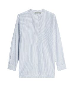 Vince   Striped Cotton Tunic Gr. L