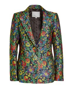 3.1 Phillip Lim | Embroidered Blazer With Silk Gr. Us 4