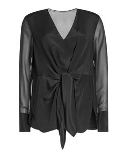 3.1 Phillip Lim | Silk Blouse With Knot Detail Gr. Us 10