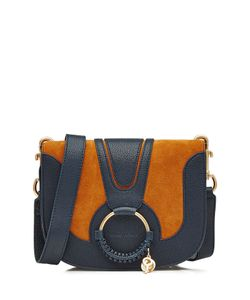 See by Chloé | Leather And Suede Shoulder Bag Gr. One Size