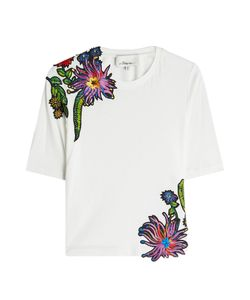 3.1 Phillip Lim | Embroidered Cotton T-Shirt Gr. Xs