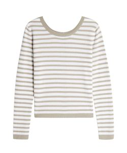 Iris von Arnim   Striped Cashmere Pullover Gr. L