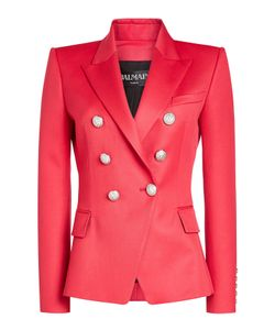Balmain | Wool Blazer With Embossed Buttons Gr. Fr 38
