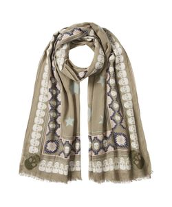 Zadig & Voltaire | Printed Scarf With Cotton Gr. One Size