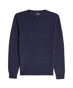 A.P.C. | Pullover With Merino Wool And Silk Gr. S