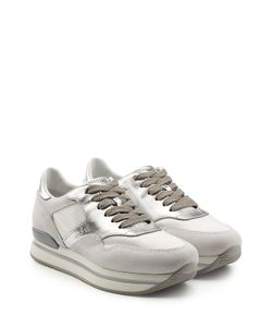Hogan | Leather And Suede Sneakers Gr. It 38.5