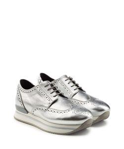 Hogan | Metallic Leather Sneakers Gr. It 37.5