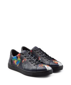 Dolce & Gabbana | Printed Leather Sneakers Gr. Eu 39