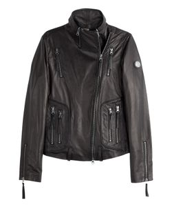 True Religion | Leather Biker Jacket Gr. M