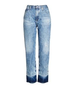 AG Adriano Goldschmied | Distressed High Waisted Jeans Gr. 24