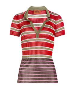 Missoni | Striped Knit Polo Shirt Gr. It 38